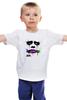 """Детская футболка классическая унисекс """"Джокер"""" - арт, batman, джокер, темный рыцарь, бетмен"""
