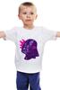 "Детская футболка ""Purple Vader"" - star wars, darth vader, звездные войны, дарт вейдер"