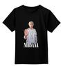 "Детская футболка классическая унисекс ""Nirvana Kurt Cobain hello t-shirt"" - гранж, nirvana, kurt cobain, курт кобейн, нирвана"