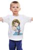 """Детская футболка классическая унисекс """"Suzumiya Haruhi"""" - аниме, меланхолия, анимэ, suzumiya haruhi"""