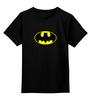 """Детская футболка классическая унисекс """"Бэтмен"""" - batman, бэтмен"""