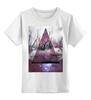 """Детская футболка классическая унисекс """"Мистерия"""" - девушка, космос, галактика, galaxy, witchouse"""