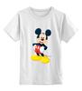 """Детская футболка классическая унисекс """"Микки Маус"""" - арт, ретро, дисней, mickey mouse"""