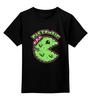 "Детская футболка классическая унисекс ""Pac Zombie"" - zombie, зомби, pac man"