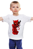 "Детская футболка ""Hellboy"" - комиксы, marvel, марвел, hellboy, хеллбой"