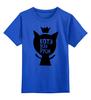 """Детская футболка классическая унисекс """"Котэ всея руси."""" - кот, царь, котэ, русь"""