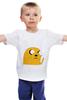 "Детская футболка ""Adventure Time: Jake Dog"" - adventure time, время приключений, jake"