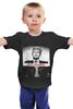 """Детская футболка классическая унисекс """"Go Hard."""" - владимир, путин, putin, vladimir, go hard"""