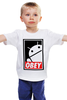 "Детская футболка ""Android (Obey)"" - android, робот, obey, андроид, повинуйся"