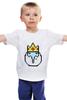 "Детская футболка ""Ice King"" - adventure time, время приключений, ice king, finn & jake"