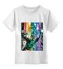 """Детская футболка классическая унисекс """"самая темная ночь"""" - comics, мультфильм, комиксы, green, кино, зеленый, мульт, фонарь, lantern, green lantern"""