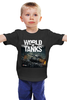 "Детская футболка ""World of Tanks"" - world of tanks, танки, wot, tanks"