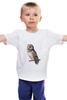 """Детская футболка классическая унисекс """"Совушка"""" - сова, owl"""