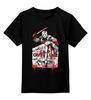 """Детская футболка классическая унисекс """"джэйсон"""" - маска, ужасы, пятница 13, вурхез, джэйсон"""