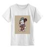 """Детская футболка классическая унисекс """"Микки Маус"""" - арт, old school, mickey mouse"""