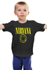 "Детская футболка ""Nirvana"" - nirvana, рок, курт кобейн, нирвана, куртка бейна"
