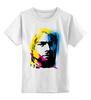 """Детская футболка классическая унисекс """"Nirvana Kurt Cobain """" - nirvana, рок, kurt cobain, курт кобейн, нирвана"""