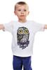 """Детская футболка классическая унисекс """"Совэ"""" - юмор, приколы, owl"""