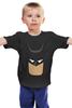 """Детская футболка классическая унисекс """"Бэтмен (Batman)"""" - batman, бэтмен, dc comics"""