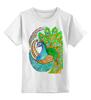 """Детская футболка классическая унисекс """"Индийский символ радости"""" - узор, животные, этнический, индийский, мехенди"""
