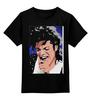 """Детская футболка классическая унисекс """"Michael Jackson """" - майкл джексон, michael jackson, king of pop, kinoart, король поп-музыки"""