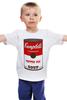 """Детская футболка """"Campbell's Soup (Энди Уорхол)"""" - поп арт, энди уорхол, pop art, andy warhol"""