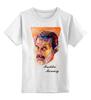 "Детская футболка классическая унисекс ""Freddie Mercury - Queen"" - куин, фредди меркьюри, freddie mercury, queen, rock music"