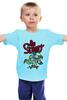 "Детская футболка ""Be street "" - скейтборд, street, the simpsons"