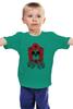 "Детская футболка ""Born Free Taxed to Death"" - череп, роза, винтаж, праздник мертвых"