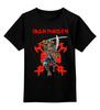 "Детская футболка классическая унисекс ""Iron Maiden Band"" - heavy metal, nwobhm, хэви метал, eddie, iron maiden"
