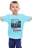 "Детская футболка ""Pulp Fiction"" - винтаж, тарантино, криминальное чтиво, pulp fiction, kinoart"