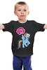 """Детская футболка классическая унисекс """"my little pony"""" - радуга, my little pony, пони, аниме, для детей"""