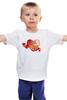 """Детская футболка классическая унисекс """"""""Be my Valentine!"""""""" - праздник, сердце, радость, be my valentine, с днём святого валентина"""