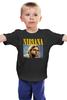 "Детская футболка ""Nirvana "" - grunge, гранж, nirvana, rock, kurt cobain, рок музыка, курт кобейн, нирвана"