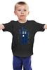 "Детская футболка классическая унисекс ""Тардис"" - doctor who, доктор кто, тардис, police box"