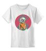 """Детская футболка классическая унисекс """"Космос внутри Нас"""" - шюпальца, арт, космонавт, космос, океан"""