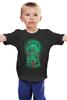 "Детская футболка ""Art Horror"" - skull, череп, zombie, зомби, ужасы"