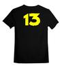 """Детская футболка классическая унисекс """"волт13"""" - игры, fallout, фоллаут, vault 13"""