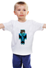 """Детская футболка классическая унисекс """"minecraft"""" - minecraft"""