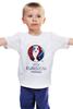 """Детская футболка классическая унисекс """"Евро 2016"""" - футбол, france, франция, евро, uefa, 2016, euro 2016, чемпионат европы"""