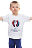 "Детская футболка ""Евро 2016"" - футбол, france, франция, евро, uefa, 2016, euro 2016, чемпионат европы"