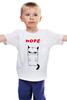 """Детская футболка """"Угрюмый Кот"""" - мем, коты, grumpy cat, nope, угрюмый кот"""