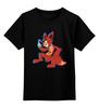 """Детская футболка классическая унисекс """"Foxy (Пять ночей у Фредди)"""" - пять ночей у фредди, five nights at freddy's, foxy"""