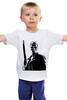 """Детская футболка классическая унисекс """"терминатор"""" - фантастика, терминатор, арнольд шварценеггер, the terminator"""
