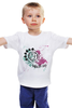 """Детская футболка классическая унисекс """"blink-182 white"""" - punk rock, панк-рок, blink-182, blink 182, blink182"""