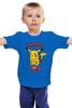 """Детская футболка """"Zombiechu"""" - zombie, зомби, покемон, пикачу, pikachu"""
