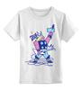 """Детская футболка классическая унисекс """"Бог Рока (Rock God)"""" - гитара, рок звезда, бог рока, rock god"""