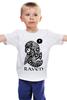"""Детская футболка классическая унисекс """"Raven Brand"""" - ворон, raven, raven brand, бренд ворон, voron"""