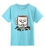 """Детская футболка классическая унисекс """"Кофе (Coffee)"""" - кофе, coffee"""