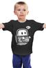 """Детская футболка классическая унисекс """"Космическое привидение"""" - космос, ghost, космонавт, привидение"""